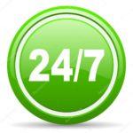 depositphotos_18322911-stock-photo-24-7-green-glossy-icon